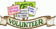 Volunteer banners